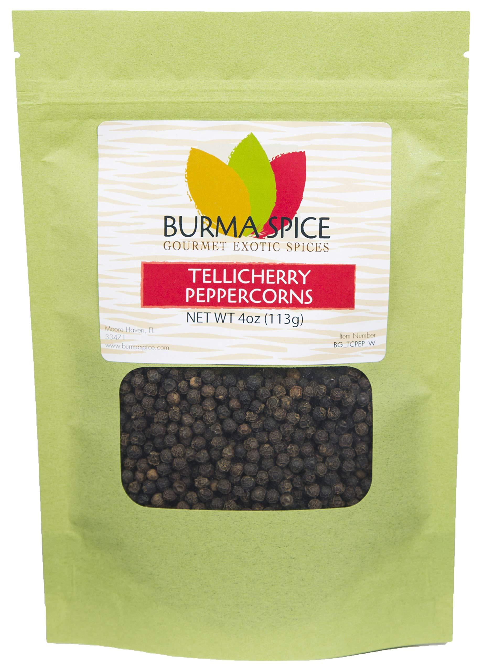 Tellicherry Black Peppercorn, Whole : Kosher Certified (4oz.)