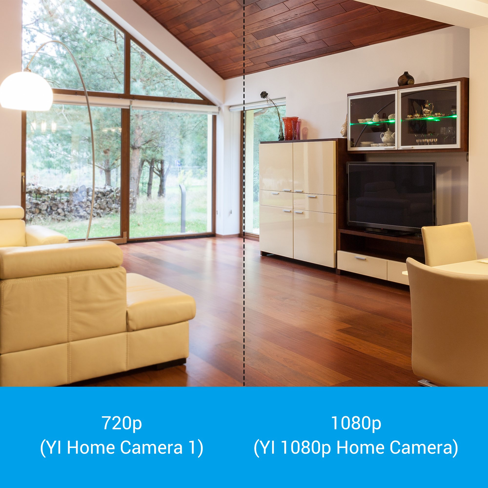 YI 1080p Home Camera, Indoor IP Security Surveillance System with Night Vision for Home/Office/Baby/Nanny/Pet Monitor with iOS, Android App - Cloud Service Available by YI (Image #4)