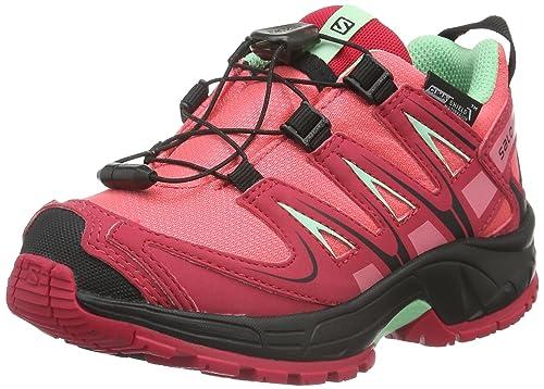 Salomon XA PRO 3D CSWP Trail running shoes madder pink