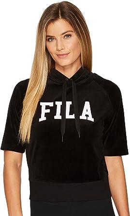 51bf94357641 Fila Women s Ariana Short Sleeve Hoody at Amazon Women s Clothing store