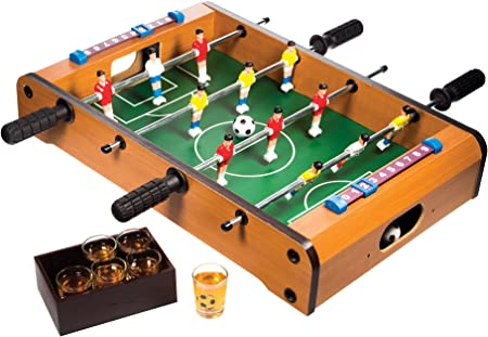 Juego de beber con Durable Shot Glasses- Party Alcohol Game- College cerveza licor juego Set: Amazon.es: Hogar
