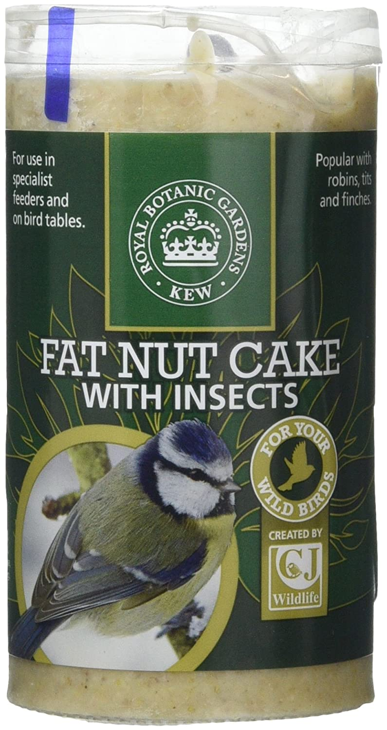 Kew Wildlife Care Collection 500ml Fat Nut Cake with Insects Tube CJ Wildbird Foods Ltd 100210646