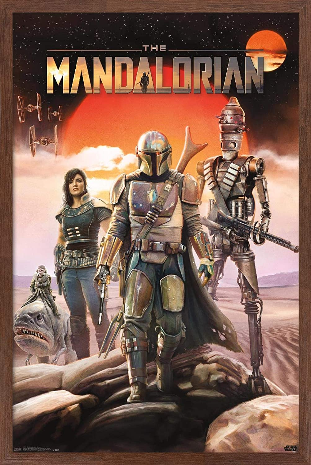 Image result for The Mandalorian poster