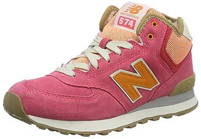 new balance damen 574 mid hohe sneakers