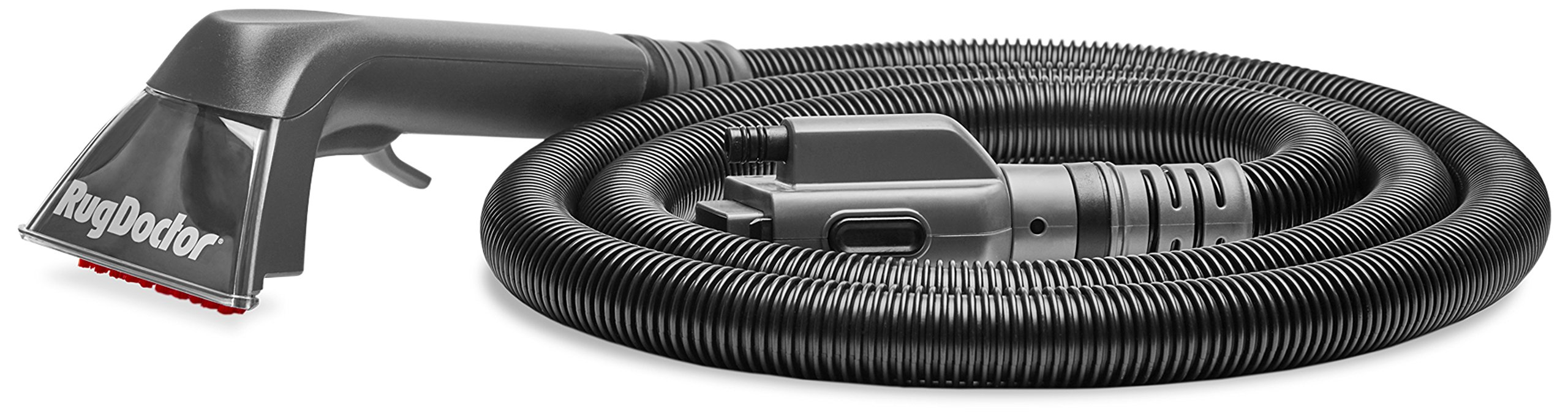 Rug Doctor FlexClean Upholstery Tool; 7.6-Foot Hose with Durable, Ergonomic Handle Attaches to FlexClean Machine; 5-Inch Cleaning Path Powerfully Suctions Deep-Down Dirt, Grime, Stains, Spills, Debris