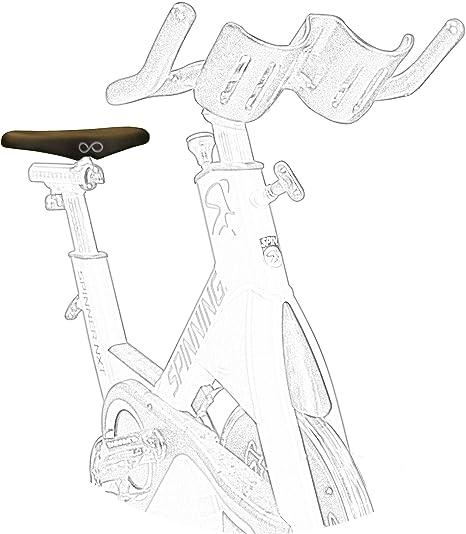 sellotto-iii-h12 Gimnasio – Sillín Bicicleta Entrenamiento Spinning Bike – Sillín Bicicleta Anti Prostata Prostatico ergonómico anatómico ortopédico – Made in Italy: Amazon.es: Deportes y aire libre