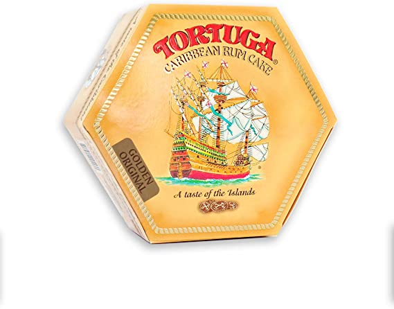 TORTUGA Caribbean Original Rum Cake with Walnuts - 16 oz Rum Cake - The Perfect Premium Gourmet Gift for Gift Baskets
