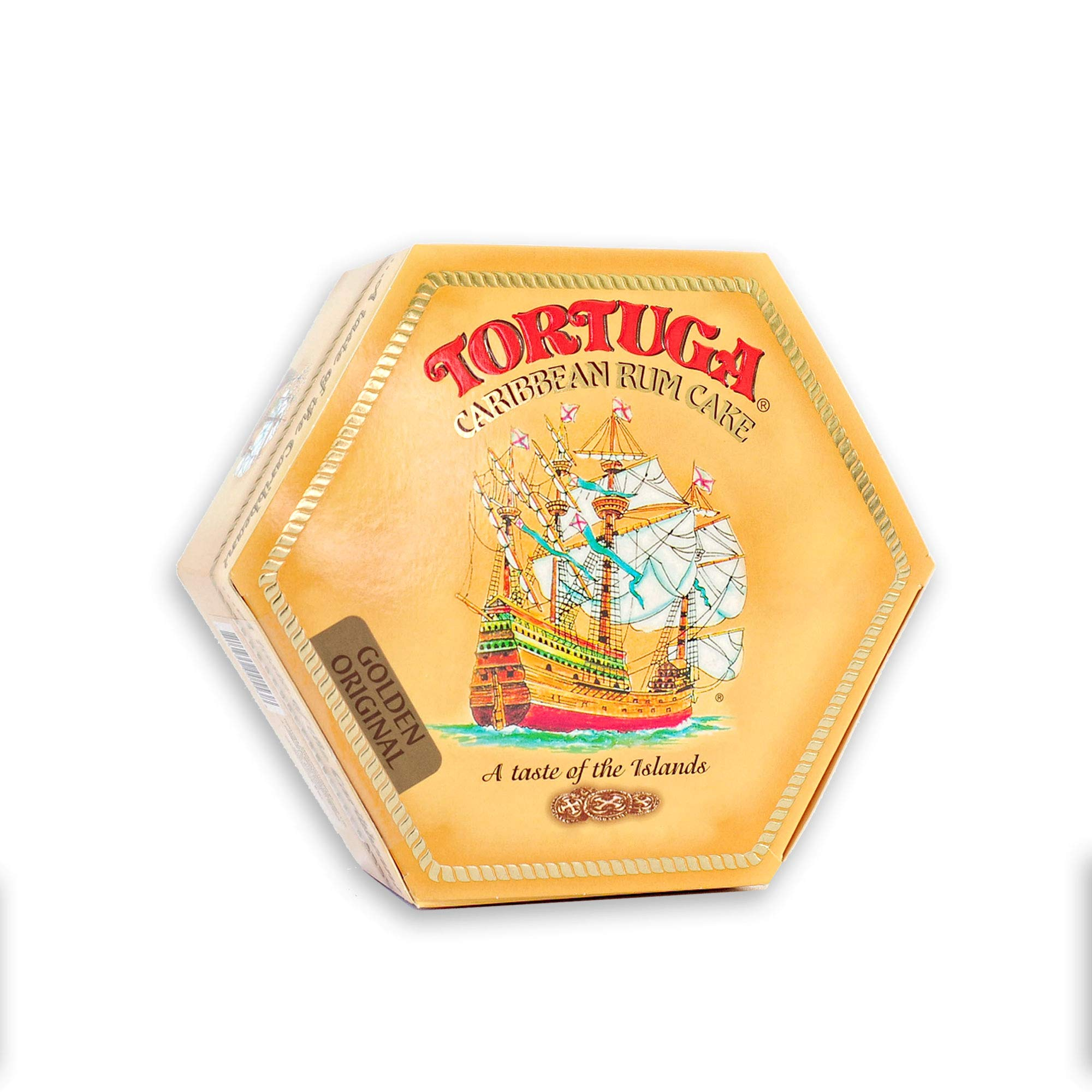TORTUGA Caribbean Original Rum Cake with Walnuts - 16 oz Rum Cake - The Perfect Premium Gourmet Gift for Gift Baskets, Parties, Holidays, and Birthdays - Great Cakes for Delivery