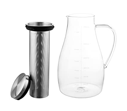 eekay Wares hermético Cold Brew Coffee Maker, té, infusor de ...
