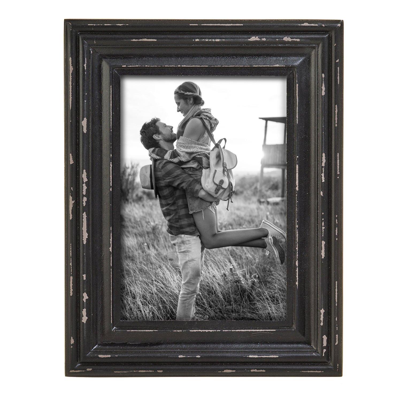 Foreside Home & Garden FFRD06233 8X10 Dalton Photo Frame Black