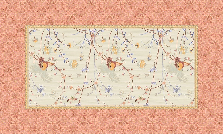 Bassetti Fong Tischdecke, Baumwolle, Beige, 150 x 250 x 1 cm