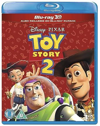 amazon com toy story 2 blu ray 3d 2d region free uk import