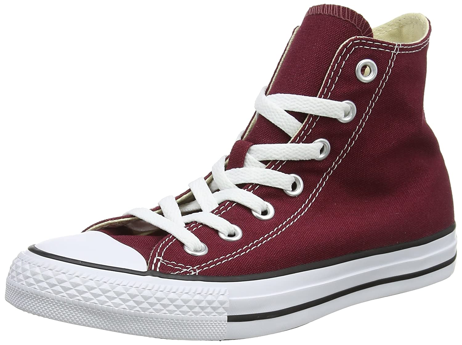 Converse Unisex Chuck Taylor All-Star High-Top Casual Sneakers in Classic Style and Color and Durable Canvas Uppers B000P33LY4 4.5 D(M) US|Maroon