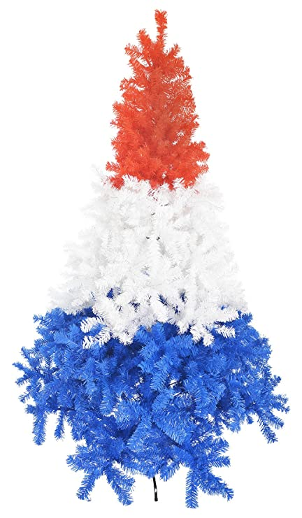 lifetime trees gorgeous 7ft 21m unique red white and blue christmas tree