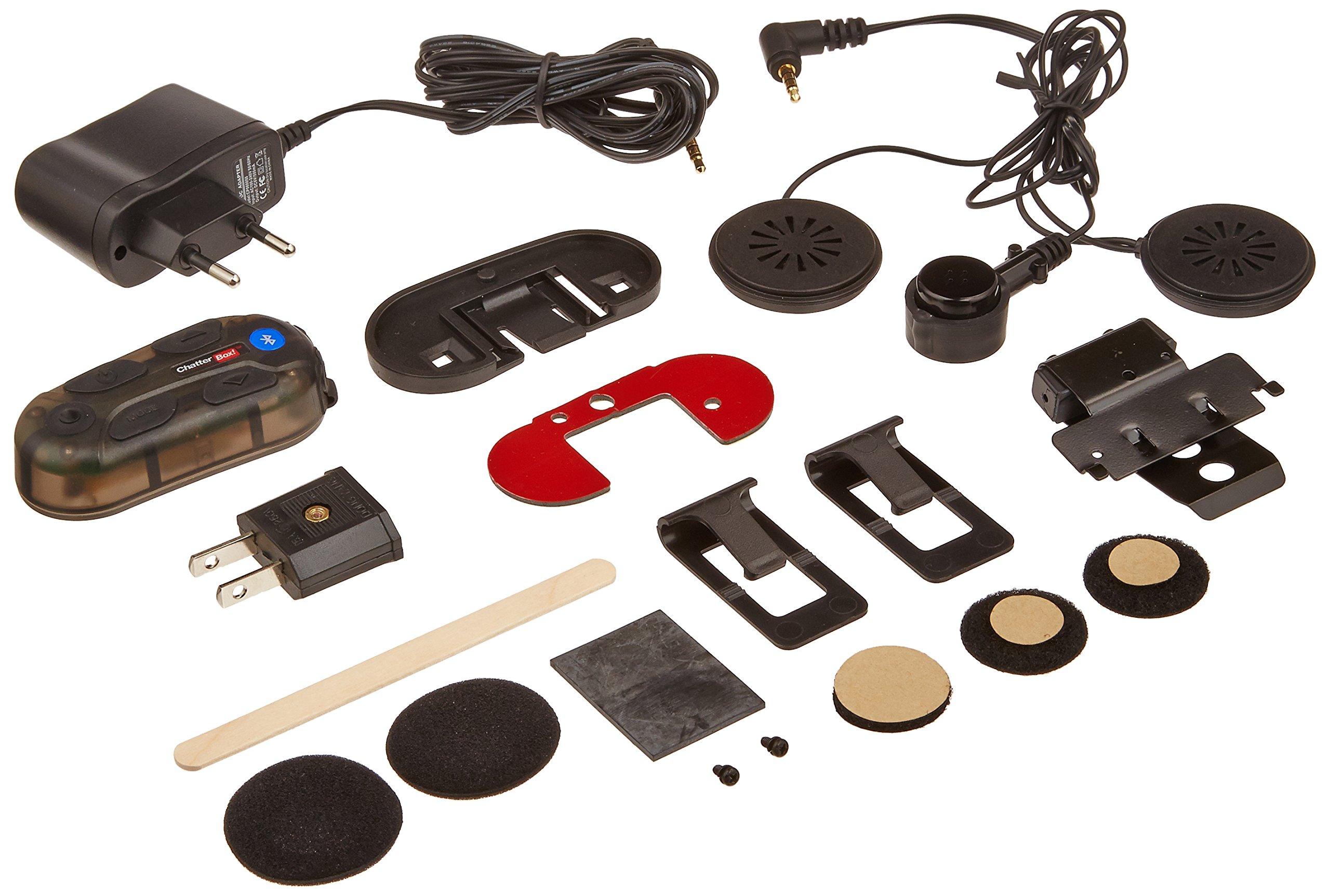Yamaha ChatterBox! XBI2 Bluetooth Intercom Full-Face Helmet Headset for Yamaha Royal Star