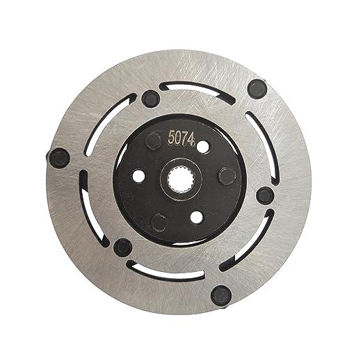 ACTECMAX AC Compresor de magnético embrague para Honda CRV 12 V 7pk: Amazon.es: Coche y moto