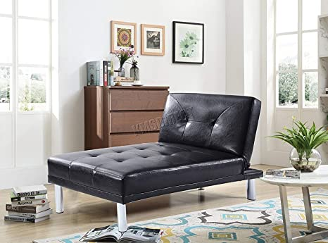 Westwood Modern Luxury Chaise Longue Single Sofa Bed 1 Seater Couch