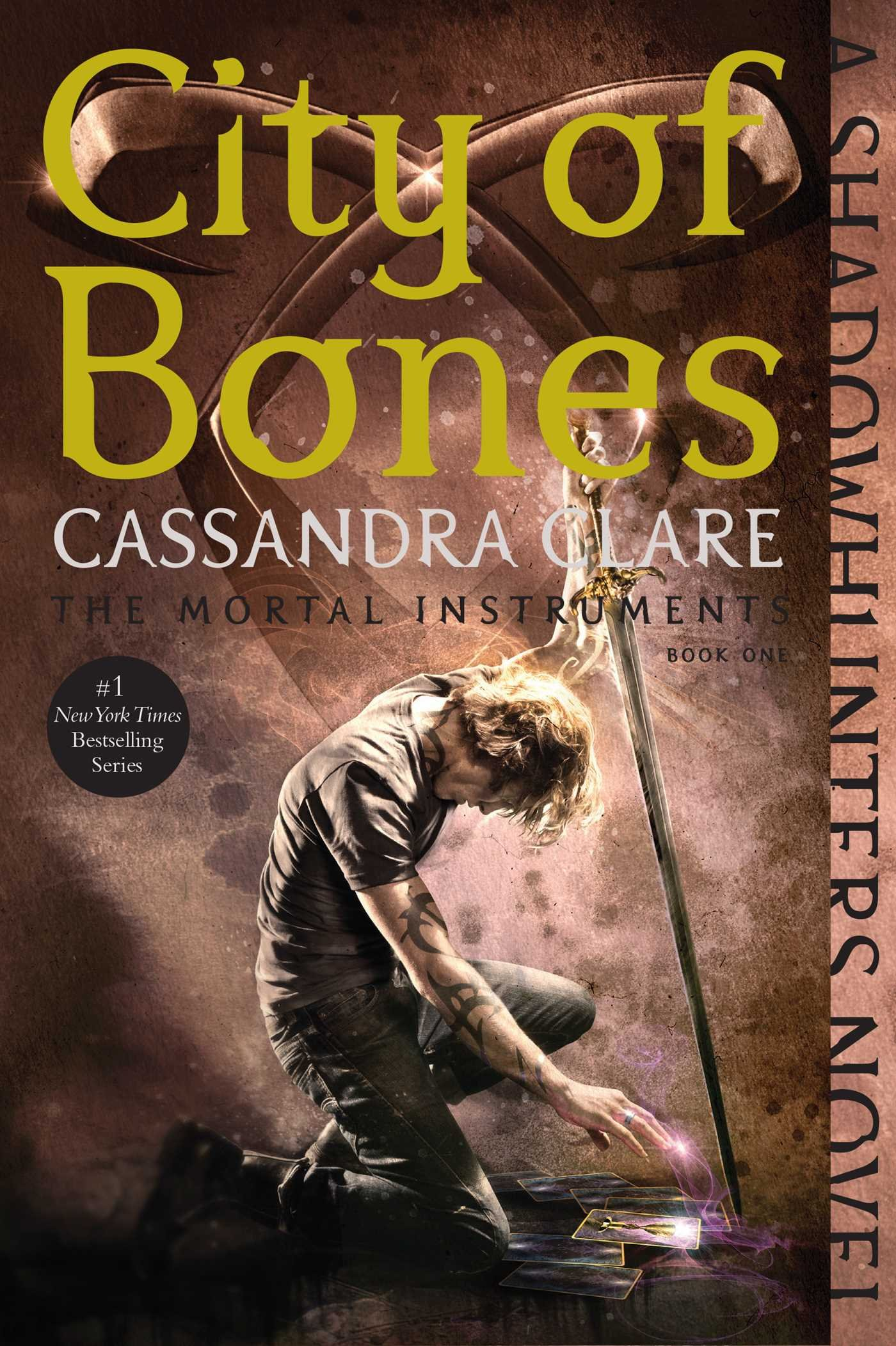 Image result for city of bones cassandra clare paperback