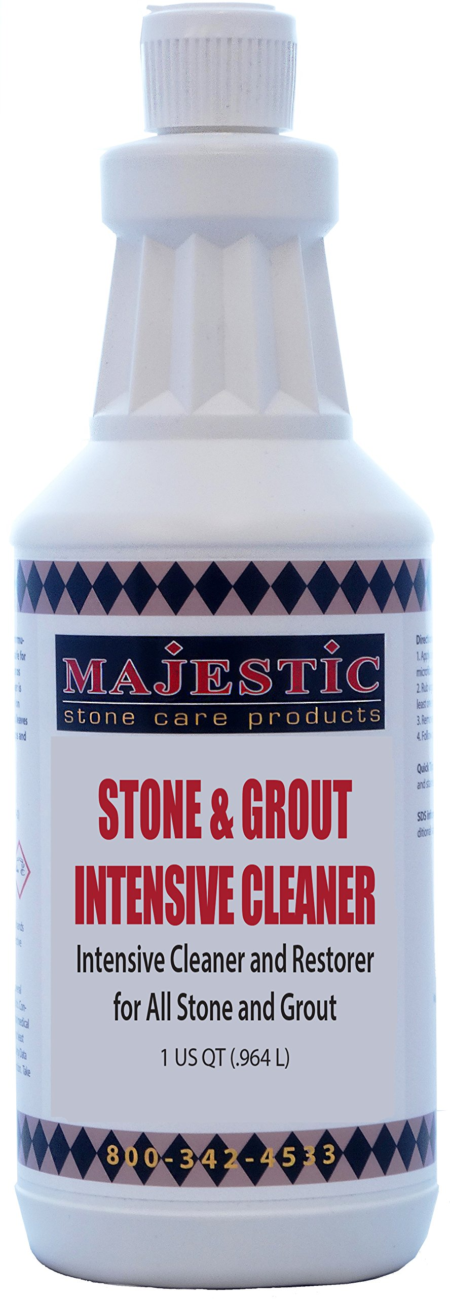 Stone & Grout Intensive Cleaner - Quart