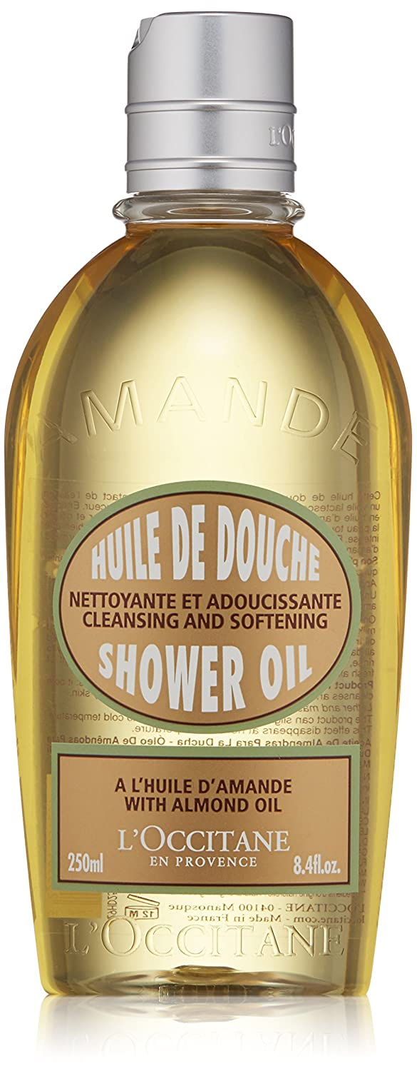 L'Occitane Huile de Douche d'Amande (Shower Oil, Almond), 8.4-Ounce Bottle L'Occitane 3253581359259