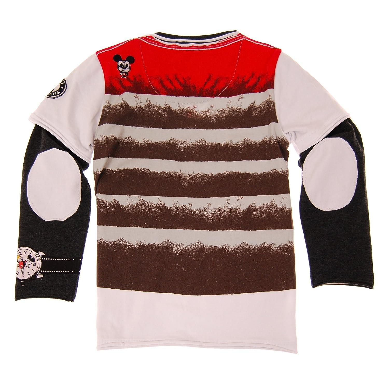 Mini Shatsu Lil Boys Mickey Mouse Puffy Vest Twofer