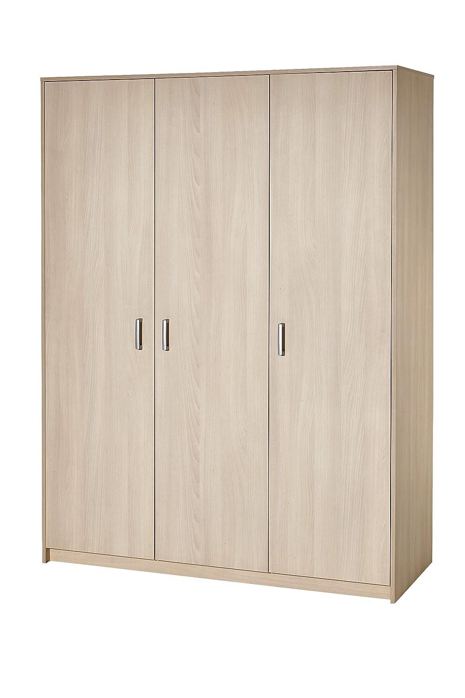 Schardt 06 493 04 00 Kleiderschrank mit 3 T/üren Classic Buche