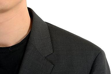 Amazon.com: hugo boss c-james1s hombre, 100% lana gris ...