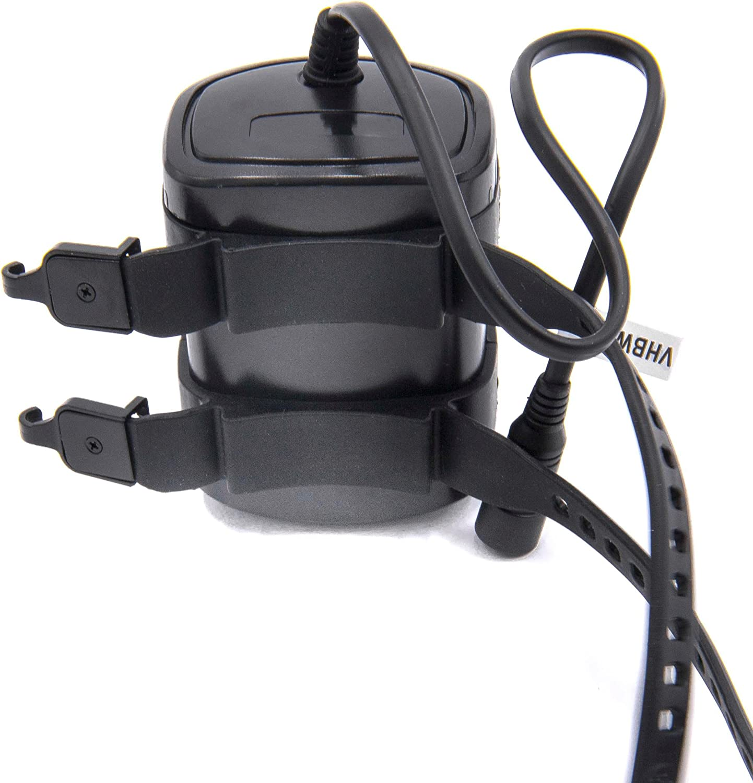 vhbw Li-Ion battery pack 9000mAh waterproof for bicycle lamp light 8.4V