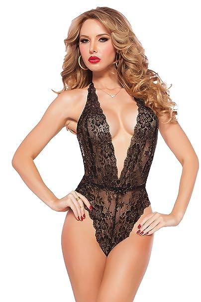 Amazon.com  Seven Til Midnight Women s Petite Kiss Of Envy Lace ... af1b2e280