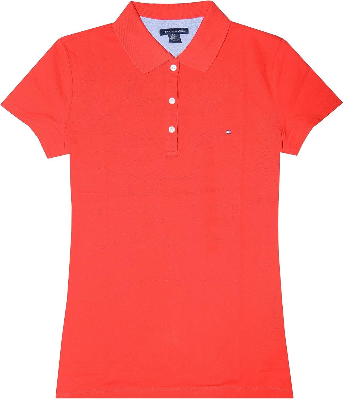 Tommy Hilfiger Camiseta Logo Clásico EN Forma de Mujer: Amazon.es ...