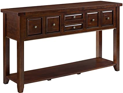Amazoncom Crosley Furniture Sienna Entryway Table Rustic