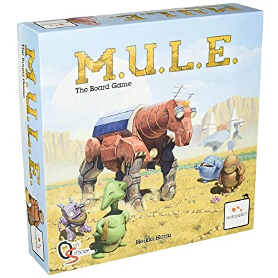 M.U.L.E. The Board Game: Toys & Games