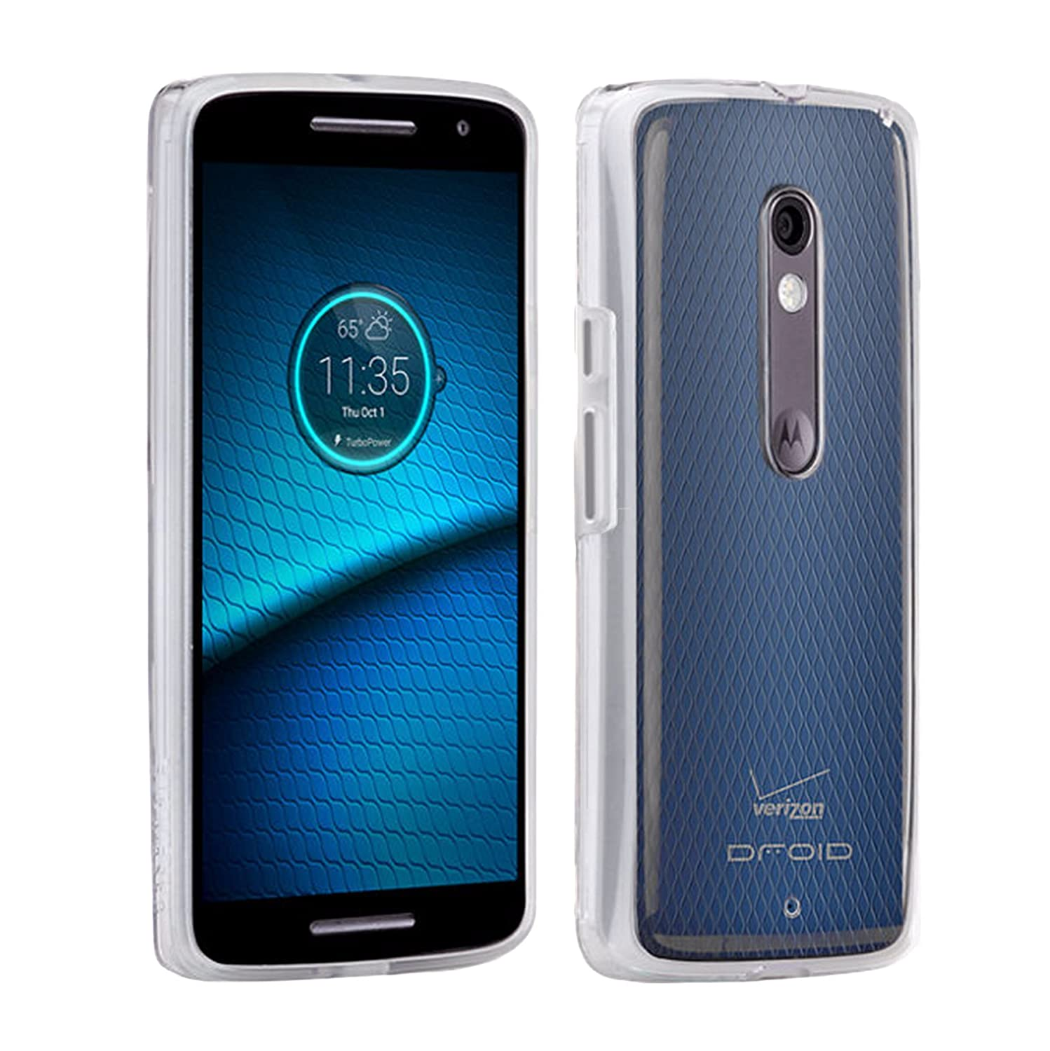 Case-Mate Naked Tough Case for Motorola Droid Maxx 2 Clear