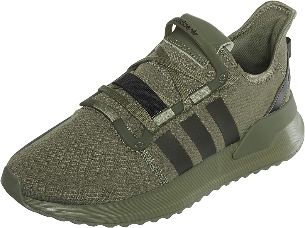 adidas U_Path Run, Zapatillas para Hombre, Verde Raw Khaki/Core Black 10013284, 41 1/3 EU: Amazon.es: Zapatos y complementos