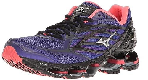 sports shoes 34dbc b3f0e Mizuno Women s Wave Prophecy 6 Running Shoes, Purple-Pink, ...
