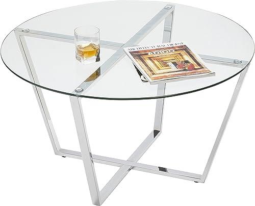 Mango Steam Metro Glass Coffee Table