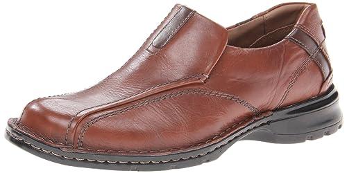 Clarks Escalade - Mocasines de Cuero para Hombre marrón marrón ...