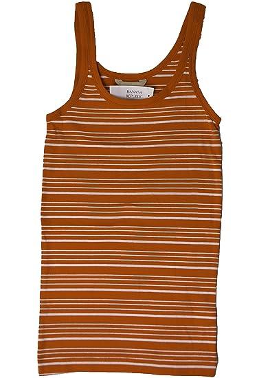 38b7bed558506 Banana Republic Women's Tank Top Multi Stripe at Amazon Women's Clothing  store: