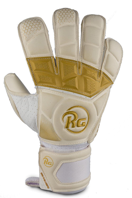 RG Aspro guantes de portero, 4 mm alemán Giga Grip Látex, tecnología de ajuste Fix, golpe de goma, unisex, de jóvenes y adultos tamaños 8 - 11, ...