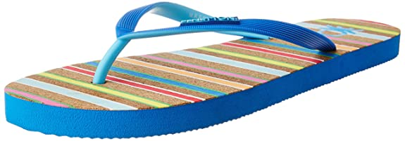 United Colors of Benetton Women's Flip-Flops and House Slippers Flip-Flops & Slippers at amazon