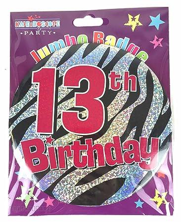Amazon.com: Niña de 13 años gigante Fiesta de cumpleaños ...
