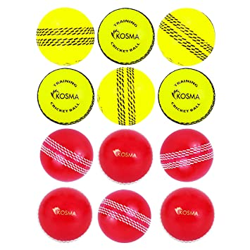 Gr/ö/ße 5 Cricket Set in Netztragetasche