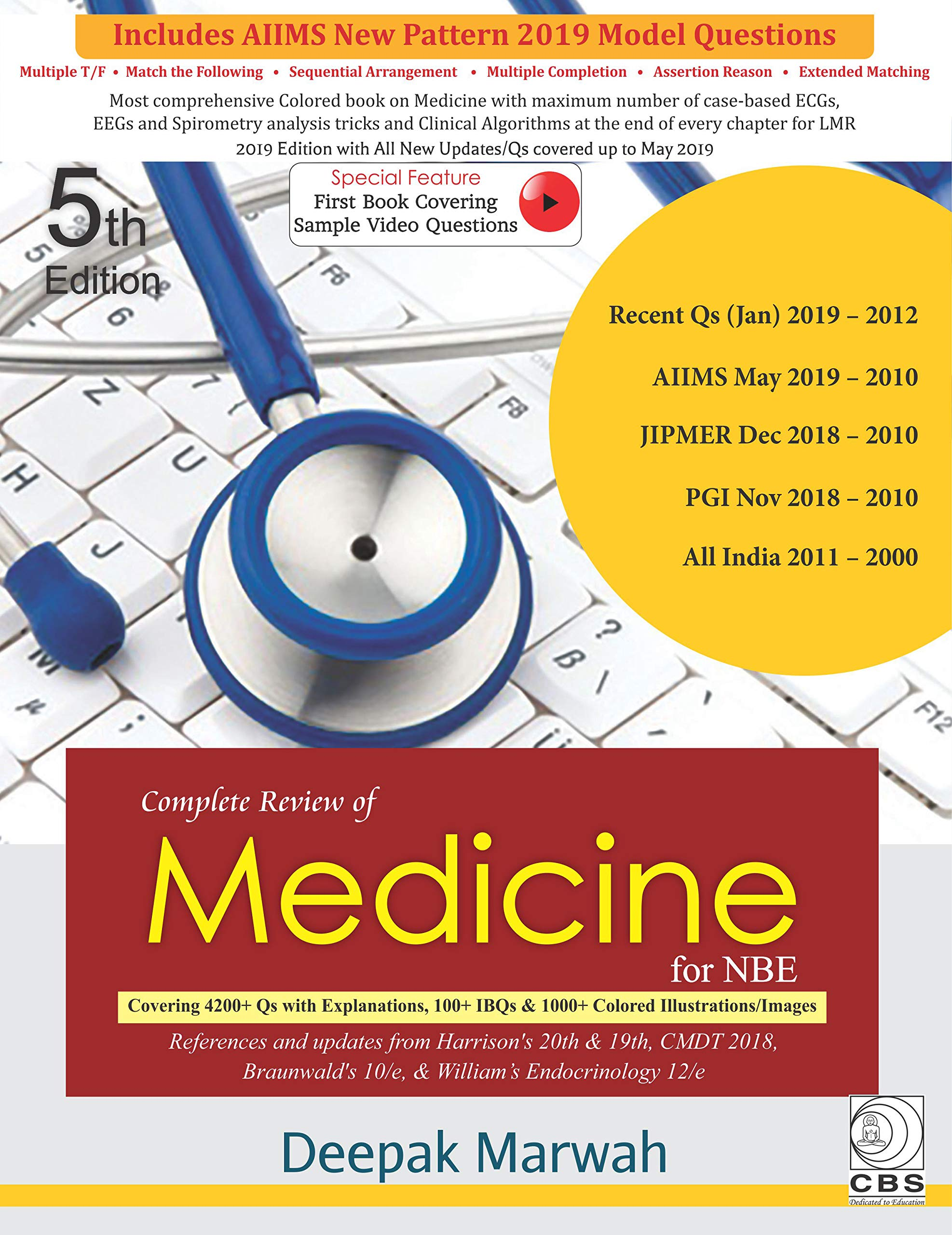 Buy Complete Review of Medicine for NBE Book Online at Low
