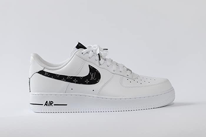 promo code 5c573 d8660 Amazon.com: Nike Air Force 1 AF1 Custom LV Scarf Inspired Edition: Handmade