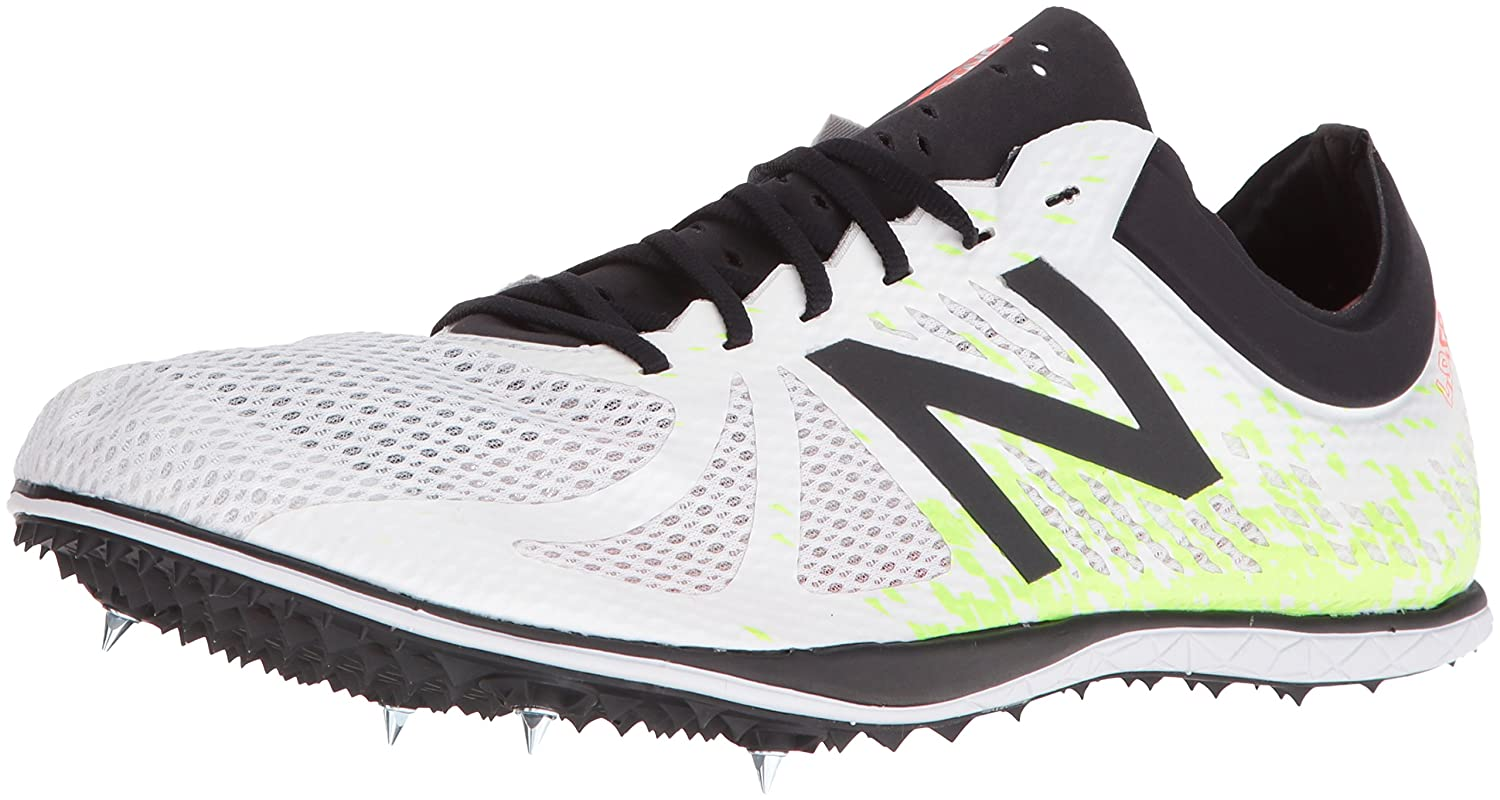 New Balance Men's MLD5KV4 Track Shoes B01CQTBJXO 14 D(M) US|White/Yellow
