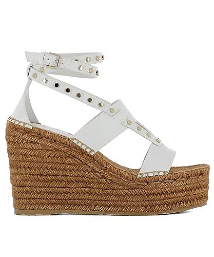 d80e8e6e29 Jimmy Choo Women's Court Shoes Weiss/Gold Size: Marke Size 6 UK ...
