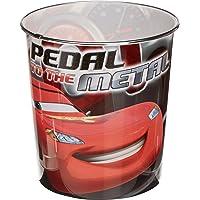 Cars - Papelera de plástico (Kids Euroswan WD71003)