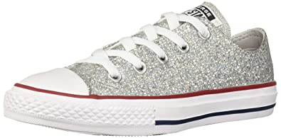 c7a1b12751d0 Converse Girls Kids  Chuck Taylor All Star Sport Sparkle Low Top Sneaker
