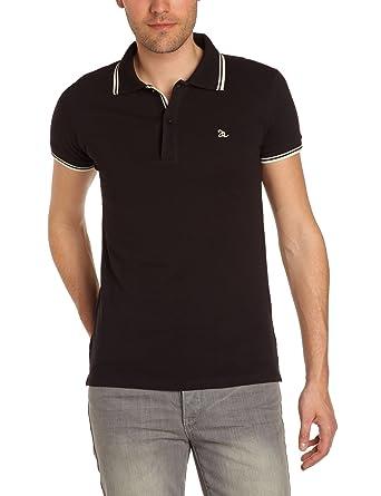 Joe Retro Men s Polo Shirt - Black - Noir (Black) - Small (Brand 5fd7f6db3269