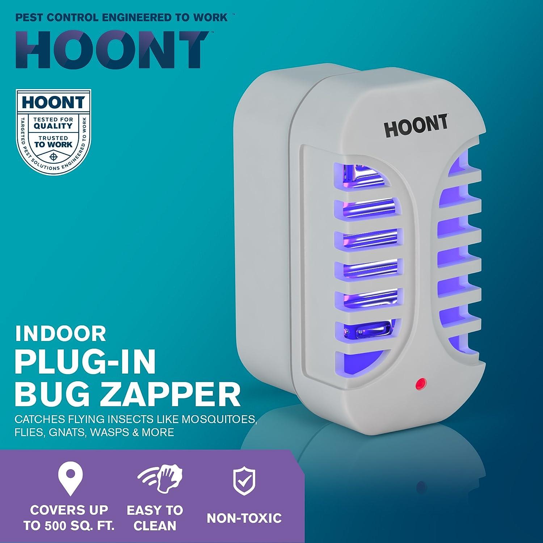 Amazon.com : Hoont Plug in Electric Indoor Bug Zapper Fly Zapper ...